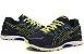 Tênis Asics Gel Nimbus 20 - Masculino - Azul Marinho e Amarelo - Imagem 4