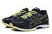 Tênis Asics Gel Nimbus 20 - Masculino - Azul Marinho e Amarelo - Imagem 3