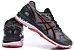 Tênis Asics Gel Nimbus 20 - Masculino - Cinza, Prata e Vermelho - Imagem 5
