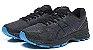 Tênis Asics Gel Nimbus 20 - Masculino - Preto e Azul - Imagem 2
