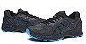 Tênis Asics Gel Nimbus 20 - Masculino - Preto e Azul - Imagem 3