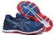 Tênis Asics Gel Nimbus 20 - Masculino - Vermelho, Azul Escuro e Branco - Imagem 4