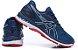 Tênis Asics Gel Nimbus 20 - Masculino - Vermelho, Azul Escuro e Branco - Imagem 5