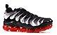 Nike Air VaporMax Plus - Cinza e Vermelho - Imagem 1