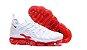 Nike Air VaporMax Plus Branco e Vermelho - Imagem 3