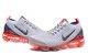 Tênis Nike Air Vapor Max 3 - Cinza e Laranja  - Imagem 3
