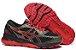 Tênis Asics Gel Nimbus 21 - Masculino - Vermelho e Dourado - Imagem 4
