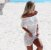 Vestido offwhite curto maravilhoso - Imagem 1