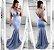Vestido de festa Ana - Azul bebê - Imagem 1