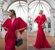 Vestido de festa Victoria - Vermelho - Imagem 1