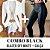 COMBO BLACK - Blazer off white + Calça couro eco na frente e neoprene atrás - Imagem 1