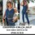 COMBO BLACK - Cropped + Calça cigarrete jeans July - Imagem 1