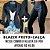 COMBO BLACK - Blazer preto + Calça couro eco na frente e neoprene atrás - Imagem 7