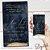 Convite Aniversário Navy e Gold Aquarela - Arte Digital - Imagem 1