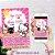 Convite Hello Kitty - Arte Digital - Imagem 1