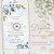 Convite Animado em Vídeo para Casamento Azul Serenity com Foto - Imagem 1