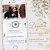 Convite Animado em Vídeo para Casamento Azul Serenity com Foto - Imagem 2