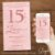 Convite 15 anos Rose Gold - Arte Digital - Imagem 1