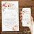 Convite Casamento Florido Rosa e Dourado - Arte Digital - Imagem 2