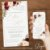 Convite Casamento Florido Marsala e Dourado - Arte Digital - Imagem 2