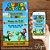 Convite Super Mario Bros - Arte Digital - Imagem 1