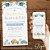 Convite Charreata de Panela Azul e Dourado - Arte Digital - Imagem 2