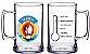 20 Canecas de Chopp de 400 ml em Acrílico Várias Cores Personalizadas - Imagem 1