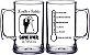 20 Canecas de Chopp de 400 ml em Acrílico Várias Cores Personalizadas - Imagem 2