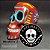 Caveira Mexicana Pintura Tradicional (Grande) (Fechada) - Imagem 3