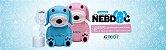 Inalador E Nebulizador G-tech Nebdog Azul - Imagem 5