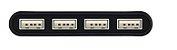 HOCO-HB3 - CABO ADAPTADOR USB-C PARA 4 USB- SL - Imagem 2