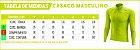 Casaco Ciclismo Flanelado Masculino Vezzo Brasil Black - Imagem 3