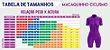 Macaquinho Ciclismo Manga Longa Vezzo Leaf Color - Imagem 2