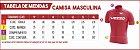 Camisa Masculina VEZZO STORM - Pro Cycle Vermelha - Imagem 4