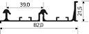 Sistema de Correr SS-200 Top Médio 2 Portas  - Imagem 9