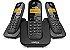 Telefone Intelbras TS3113 s/ Fio Preto - Imagem 1