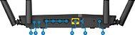 Roteador D-Link DIR-825 Gigabit AC1200 4 Antenas - Imagem 4