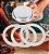 Borracha Branca Filtro Cafeteira Italiana Alumínio 12 cafés - Imagem 2