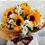 Buquê de Girassol com Alstroemeria - Imagem 1
