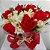 Rosas Vermelhas e Galhos de Alstroemeria - Imagem 2