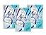 Máscara Facial Colagen e Elastina Spa Facial New Beauty Sachê 8g - 3 Unidades - Imagem 1
