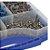 Kit de Parafusos Pocket-Hole Mais Usados com 675 Unidades e Estojo Plástico - KREG TOOL-SK03 - Imagem 4
