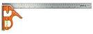 ESQUADRO COMBINADO 400MM COM NIVEL E RISCADOR BAHCO CS400 - Imagem 1