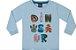 Camiseta Bebê Manga Longa Menino Dinosaur Kiko e Kika - Imagem 1