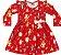 Vestido Infantil Raposinha Kiko e Kika - Imagem 1