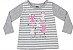 Camiseta Bebê Manga Longa Coelhinho Kiko e Kika - Imagem 1