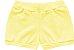 3 Cobre Fraldas Shorts Bebê Suedine Tigrinha Amarelo Kiko Baby - Imagem 3