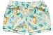 3 Cobre Fraldas Shorts Bebê Suedine Tigrinha Amarelo Kiko Baby - Imagem 2