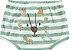 Kit Cobre Fralda Shorts Bebê Leãozinho Listras Kiko Baby - Imagem 3
