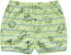Kit Cobre Fralda Shorts Bebê Unissex Dino Listras Verde Kiko Baby - Imagem 2